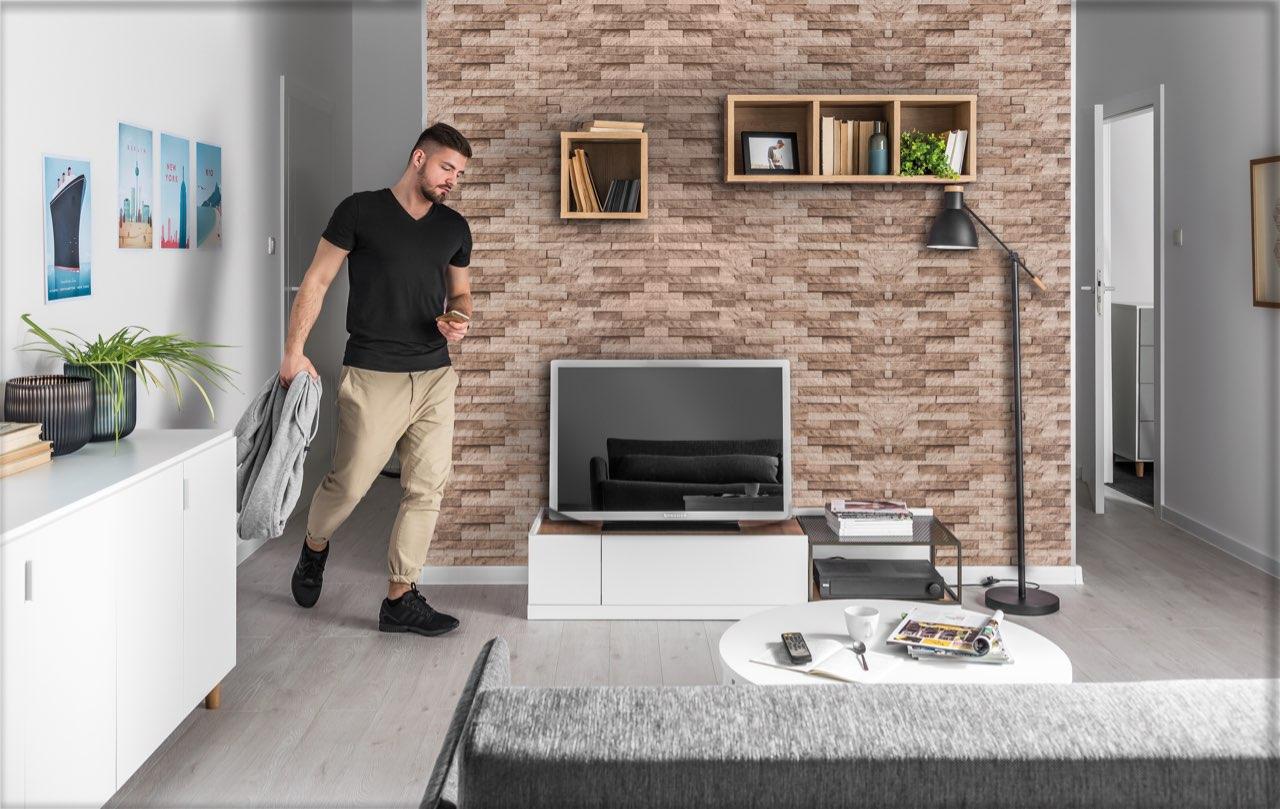 Rustic Brick Effect Wall Panels Allpanels