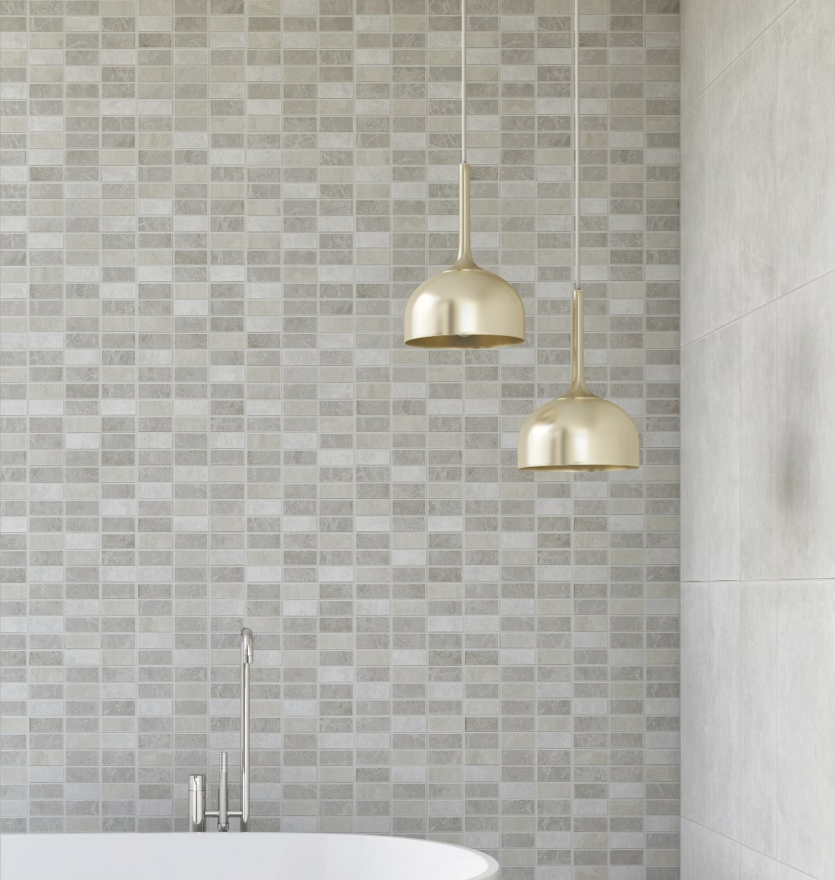 mosaic tile effect wall panels from allpanelscouk