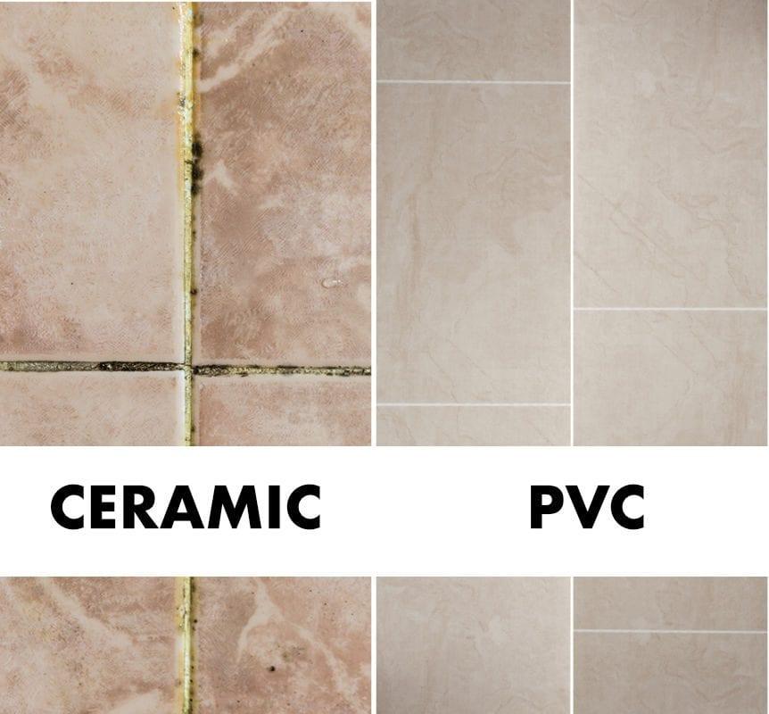 ceramic vs PVC panel