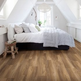 Wood effect vinyl flooring