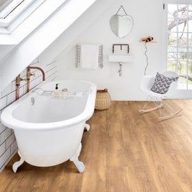 Clever click waterproof flooring