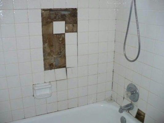 DIY Tile fail