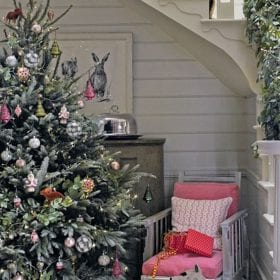 Hallway Christmas tree