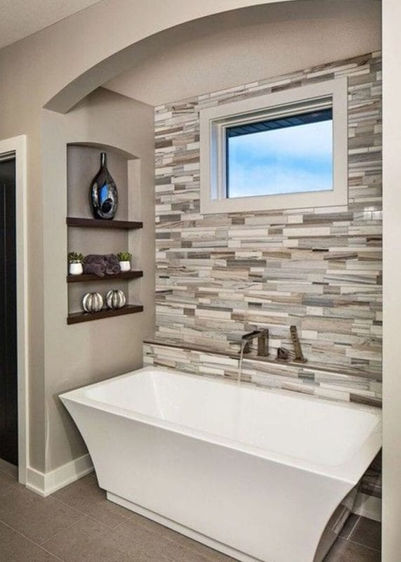 Bold mosaic bathroom design ideas